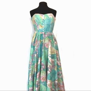 Vintage Women's Summer Dress